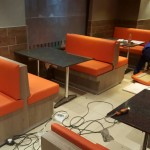 OBC Chicken benches and tables
